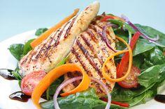 7 day shredding meal plan chicken salad