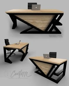 Home office space decor ideas 31