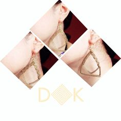 "Goldie goodie ✨💕  ""Notre-madam earrings"" Order LINK on our BIO😊  Kiss and Peace💋✌️ DK   #fashion #jewelry #Indonesia #localbrand #earrings #handmade #wire #accessories #boho #bohemian #gypsy #hippie #edgy #bold #gold #wirejewelry #jewellery #bohemianaccessories #handmadejewelry #bohemianjewelry #localbrandid"