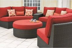 greenville sectional comfy outdoor wicker outdoor wicker patio rh pinterest com
