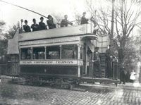 Nelson Corporation Tramways from a collection of photographs in the IET Archives NAEST 074