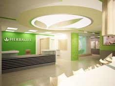 Herbalife Concept-store Minsk by Oleg Koulik, via Behance Herbalife Shake Recipes, Herbalife 24, Herbalife Nutrition, Nutrition Club, Fitness Nutrition, Food Nutrition, Club Design, Spa Design, Pizza Hut Menu