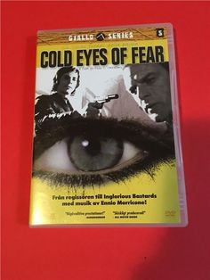 Annons på Tradera: GIALLI SERIES - COLD EYES OF FEAR