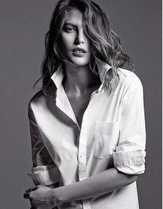 classic white shirt ~ Catherine McNeill