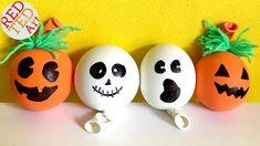 DIY Stress Balls for Halloween - Pumpkin Stress Ball - Ghost DIY - (Sens...