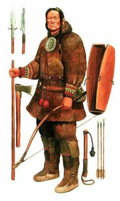 Central Asian/Siberian Bronze Age warrior