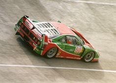 historyofracing: Ferrari F40 - Montlhéry - 1995
