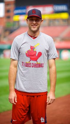 Love me some Michael Wacha!! I sat with Michael at the Winter Warm up this year. What a NICE guy.