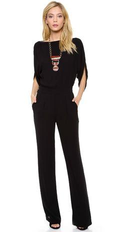 Diane von Furstenberg Lucy Jumpsuit | SHOPBOP