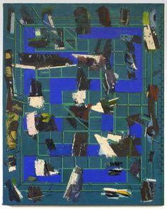 Sangram Majumdar, floorplay , 2016 oil on canvas 40 x 32 in