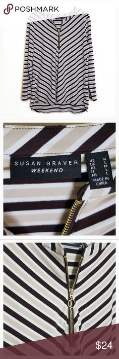 Lovely Susan Graver Sweater//Jacket Zips Pockets Charmeuse Trim Fuchia 1X New
