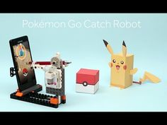 We have already covered Pokemon Go drones that you can rely on to catch more Pokemons. This Pokemon Go Catch Robot may prove useful for those of you who Top Pokemon, Diy Robot, Lego Pieces, Diy Electronics, Youtube, Drones, Experiment, Robots, Gifs