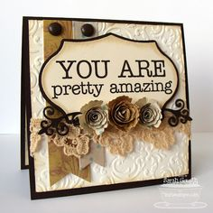 Love the idea for gift ideas...instead of making a card, put in pop out frame...and add some color!!!