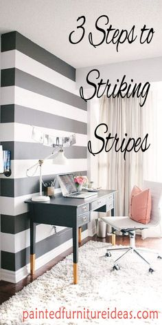 Give your walls some personality with stripes! Stripes are a great option for those of us that might be a... Read more »