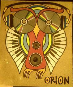 orion owl  gufo music musica cd  stereo cuffie  orchestra  sound