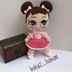 Crochet Dolls Free Patterns, Crochet Doll Pattern, Lol Dolls, Cute Dolls, Silicone Reborn Babies, Amigurumi Toys, Baby Dolls, Diy And Crafts, Barbie Dolls