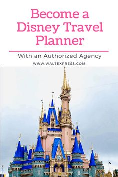 We get a lot of inquiries on how to become a Disney Travel Planner. So in true Walt Express style, we wanted to provide you with all the information you need to know if this profession is right for you. Vacation Planner, Vacation Travel, Travel Planner, Vacation Trips, Disney Destinations, Disney Vacations, Disney Trips, Disney World Magic Kingdom, Walt Disney World