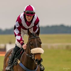 https://flic.kr/p/24AquJ7 | Point-to-Point Rider and Horse | Point-to-Point racing at Larkhill