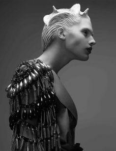 Strangely compelling, Hair- X-Presion Creativos Makeup- Yurema Villa...