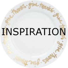 Knock Off Crate and Barrel Thanksgiving Plates:  These DIY plates are easy and inexpensive to make for Thanksgiving or any other holiday.  Use a special pen to add permeant writing to any ceramic piece.