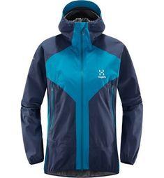 Reduced hoodies for women - Haglöfs W L.M Proof Multi Jacket Summer Hiking Outfit, Hiking Outfits, Vest Jacket, Rain Jacket, Hats For Women, Jackets For Women, Mens Baseball Tee, Essentials, Kentucky Derby Hats