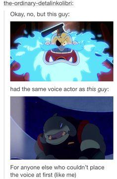 It did sound familiar