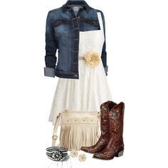Country Girl, created by justbeccuz on Polyvore