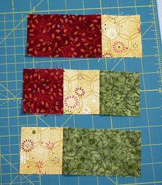 Accidental Quilt block redone Pieces2