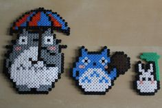 My Neighbour Totoro Hama Bead Fuses Set by SophiesHamaBeads