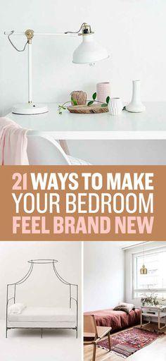 21 Easy Ways To Make Your Bedroom Look Better