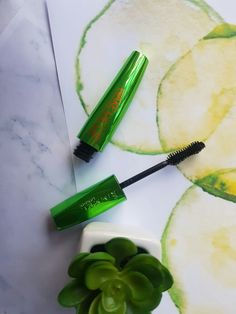 Rimmel Wonder'full Wake Me up Mascara, with cucumber extract! Read my review on this product here:  Rimmel Wonder'full Wake Me Up Mascara Review - http://wp.me/p82yK2-99