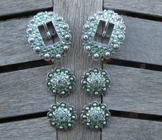 Diamond B Jewelry - Custom Made Buckle Sets pg 2  Peridot