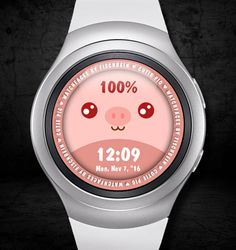 Cutie Pig – Watchfaces by Fischbein Smart Watch, Box, Style, Swag, Smartwatch, Snare Drum, Outfits