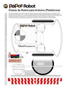 PaperRobot: A simple robot with Arduino