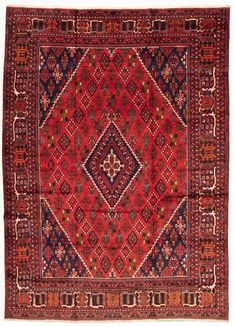 Persian Joshagan x Hand-knotted Wool Red Rug Southwestern Decorating, Red Rugs, Rugs In Living Room, 9 And 10, Wool Rug, Decor Styles, Persian, Bohemian Rug, Hand Weaving