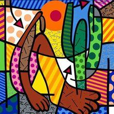 Obras de Romero Britto - (Arte Pop) Brasileiro