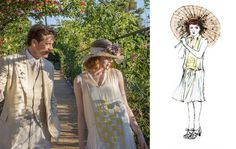 Emma Stone - Magic In The Moonlight Costume