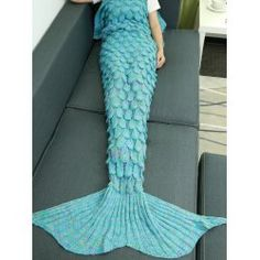 SHARE & Get it FREE | Warmth Hollow Out Design Knitted Mermaid Tail BlanketFor Fashion Lovers only:80,000+ Items • FREE SHIPPING Join Twinkledeals: Get YOUR $50 NOW!