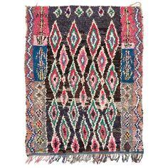 "vintage boucherouite rug - 5'5""x6'11"""
