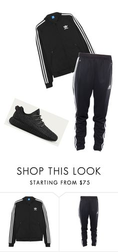 """Untitled #105"" by haley-maemann2 ❤ liked on Polyvore featuring adidas Originals and adidas"