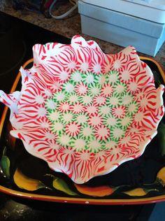 Fun candy bowls that Hannah, Stella & I made!