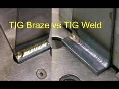 Learn great TIG Welding Techniques in Part 1 of this 2 part video. Great for beginners and intermediate welders. Don't be scared of TIG welding! Welding Classes, Welding Jobs, Welding Projects, Diy Welding, Welding Ideas, Metal Projects, Welding Crafts, Diy Projects, Welding Certification