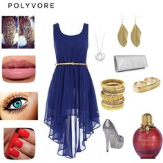 my first creation on polyvore :D