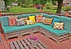 pallets garden sofa