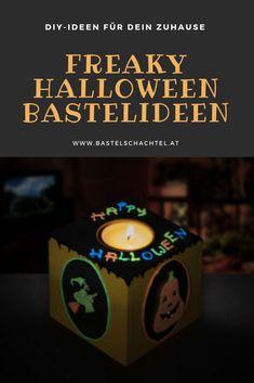 Halloween steht vor der Tür! Wir haben gruselige Bastelideen für euch. Schaut doch mal vorbei! Halloween Diy, Creepy, Halloween Crafts