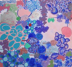 "Saatchi Art Artist: Rebecca Jacoby; Oil 2013 Painting ""Gradation"""