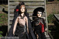 Antique Vintage Boudoir Dolls | eBay
