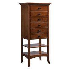 Modern Shaker 6 Drawer City Chest by Crescent Furniture - Wayfair.com :: $1130