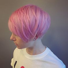 I really want pink hair!!!  I  #pink  #bleach & #tone  using #wella #blondor & #manicpanic #cottoncandy  #pinkhair