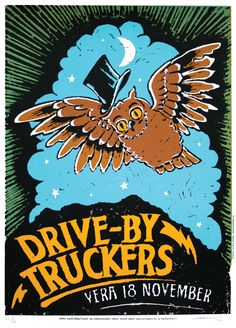 GigPosters.com - Drive-by Truckers